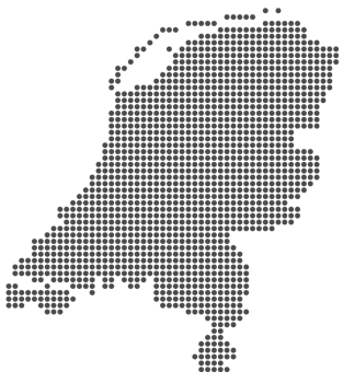 Nederland grijs